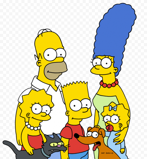 The Simpsons PNG Clipart  anime free png images