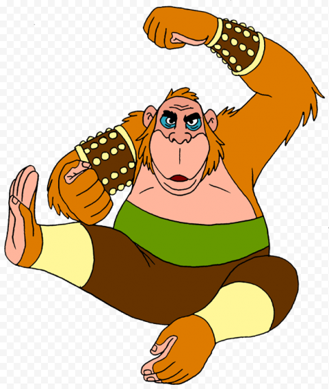 King Louie PNG Transparent Image  anime free png images