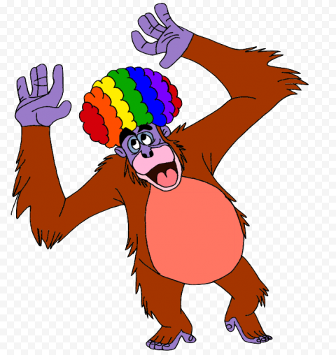 King Louie Transparent Background  anime free png images