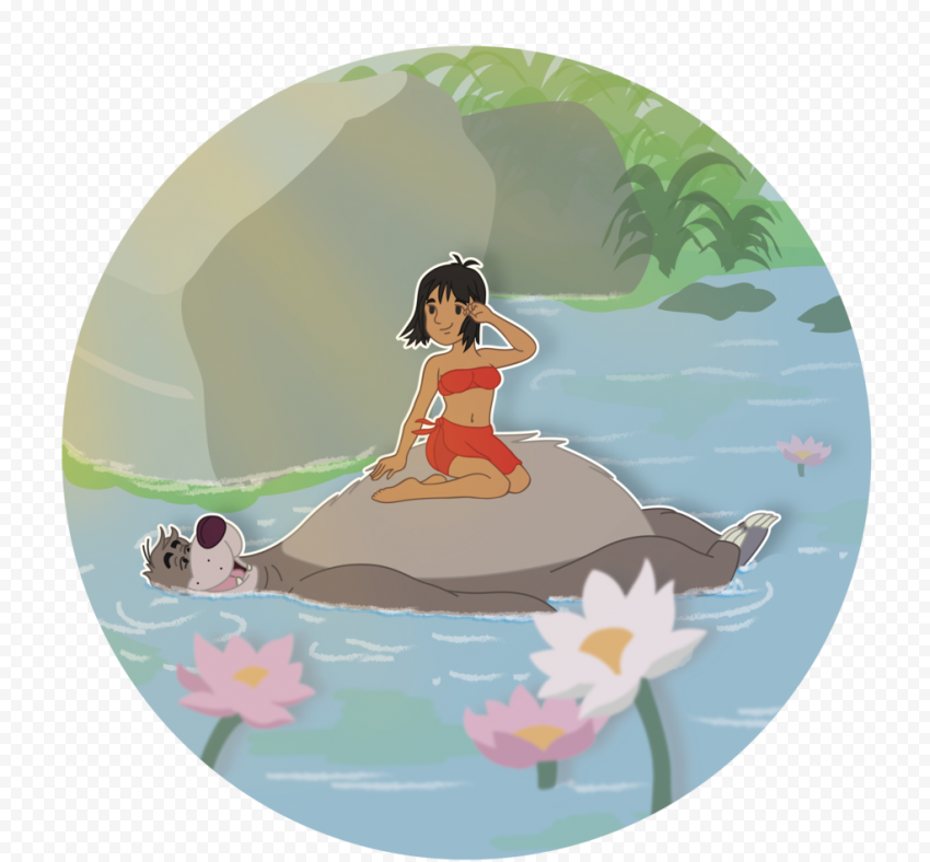 Mowgli Transparent Background  anime free png images