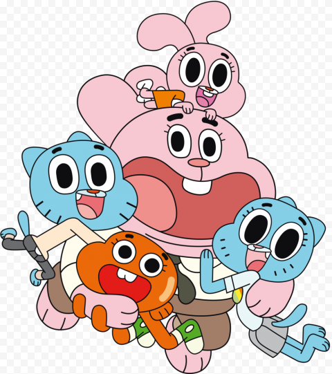 The Amazing World of Gumball PNG Background Image