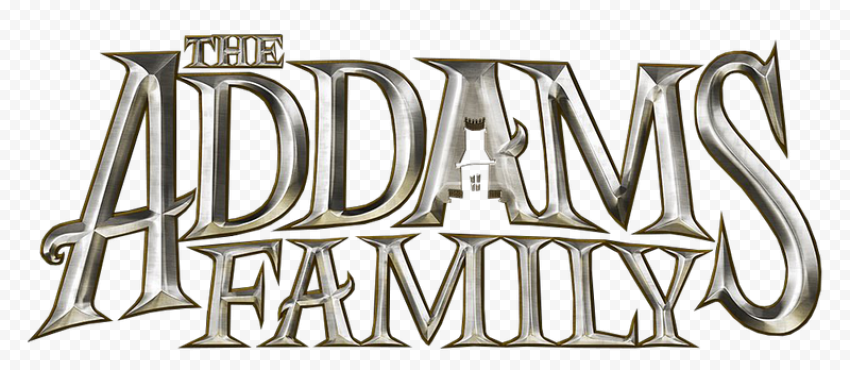 The Addams Family Logo PNG HD