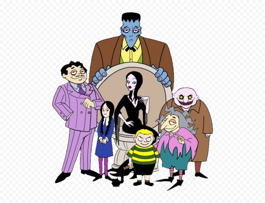 The Addams Family PNG Transparent Image