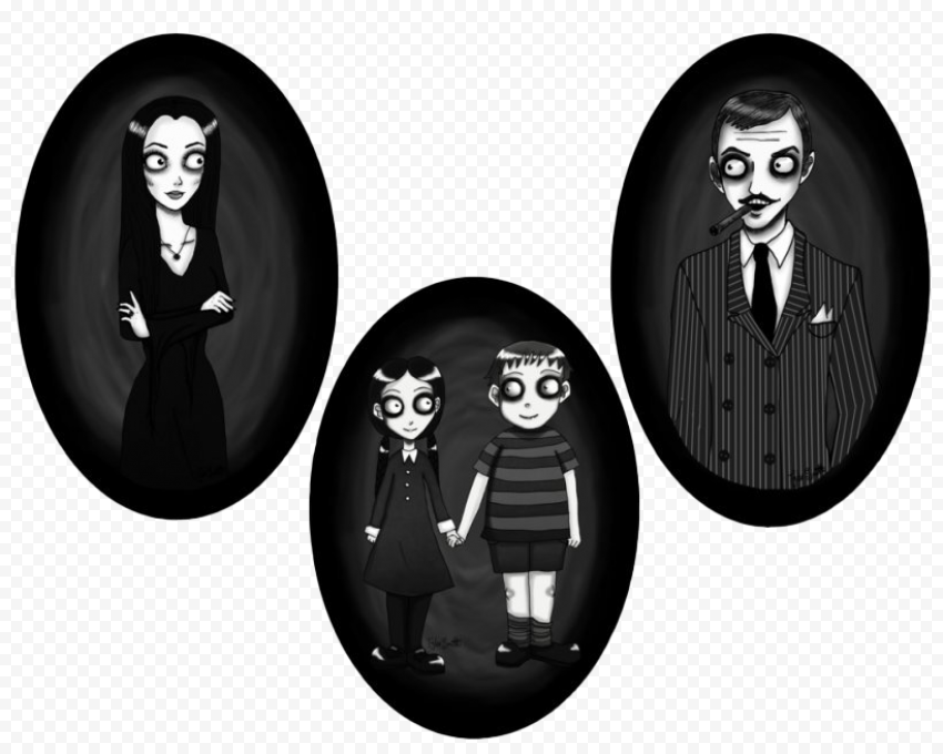 The Addams Family PNG Transparent Picture