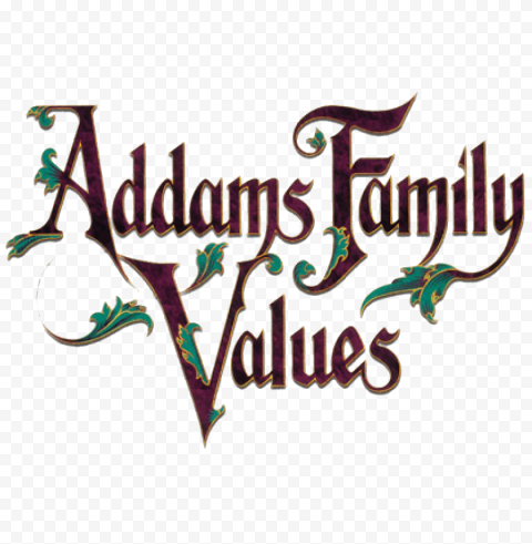 The Addams Family Logo Transparent Background