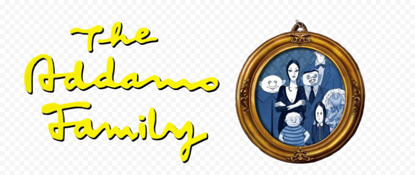 The Addams Family Logo PNG Clipart