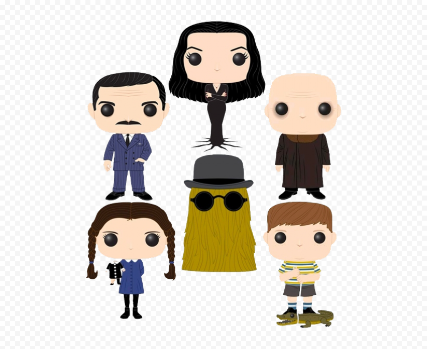 The Addams Family PNG Free Download