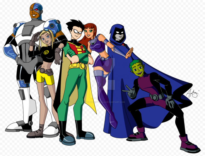 Teen Titans PNG Image  FREE DOWNLOAD