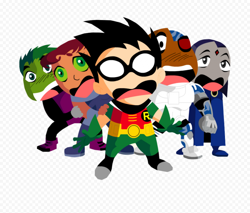 Teen Titans PNG Photos  FREE DOWNLOAD