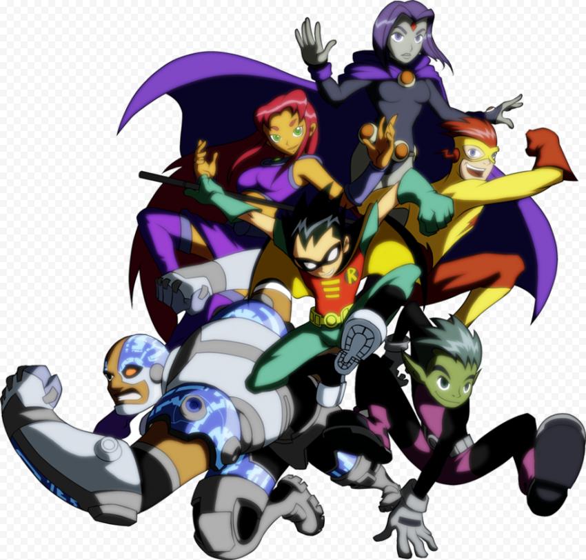 Teen Titans Transparent PNG  FREE DOWNLOAD