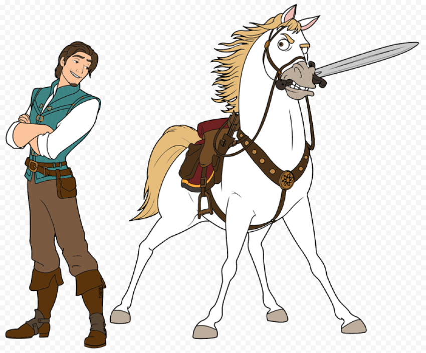 Flynn Rider PNG Image anime characters