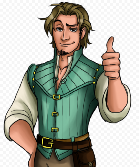 Flynn Rider PNG Pic anime characters