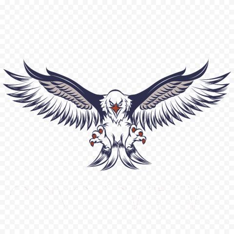 eagle illustration, Bald Eagle White tailed Eagle, gunfare, animals, logo, machine Gun