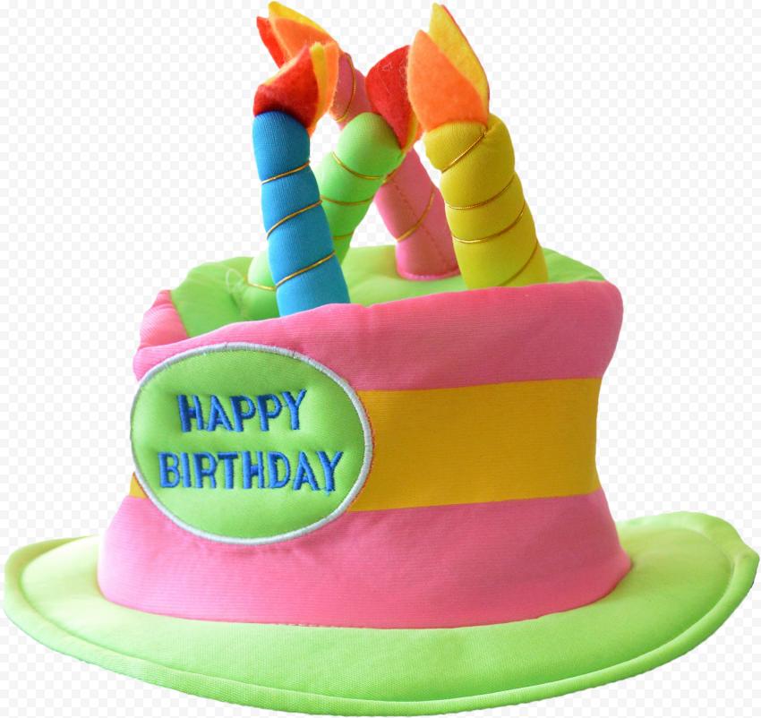 Happy Birthday cake hat, Party hat Birthday, Happy Birthday Hat, hat, happy Birthday To You, cake Decorating