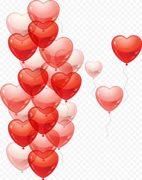 Heart Balloon PNG HD
