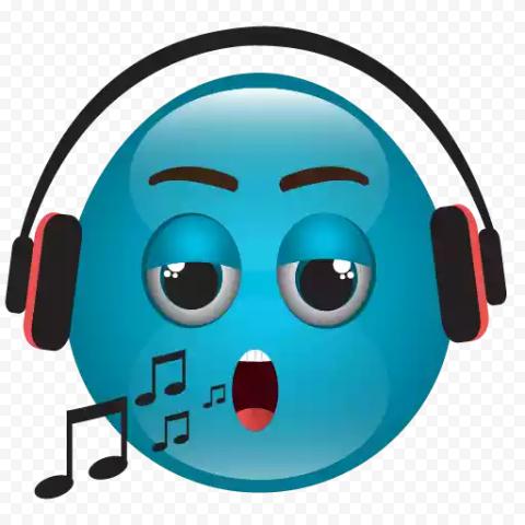 Download Blue Emoji PNG Photo