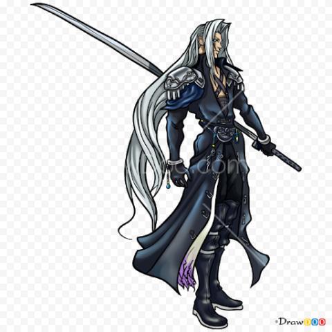 Final Fantasy Sephiroth PNG Pic