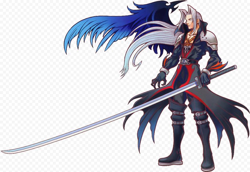 Sephiroth PNG Transparent Image