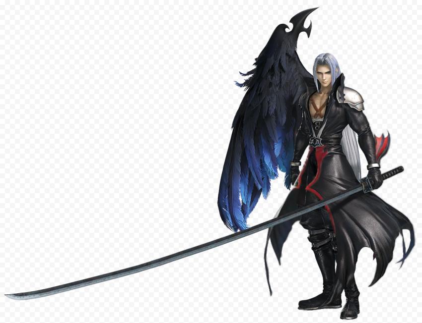 Final Fantasy Sephiroth Transparent PNG