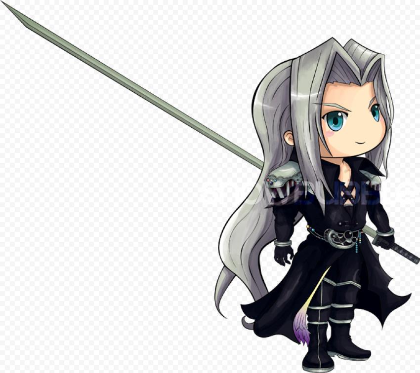 Final Fantasy Sephiroth PNG Transparent Image