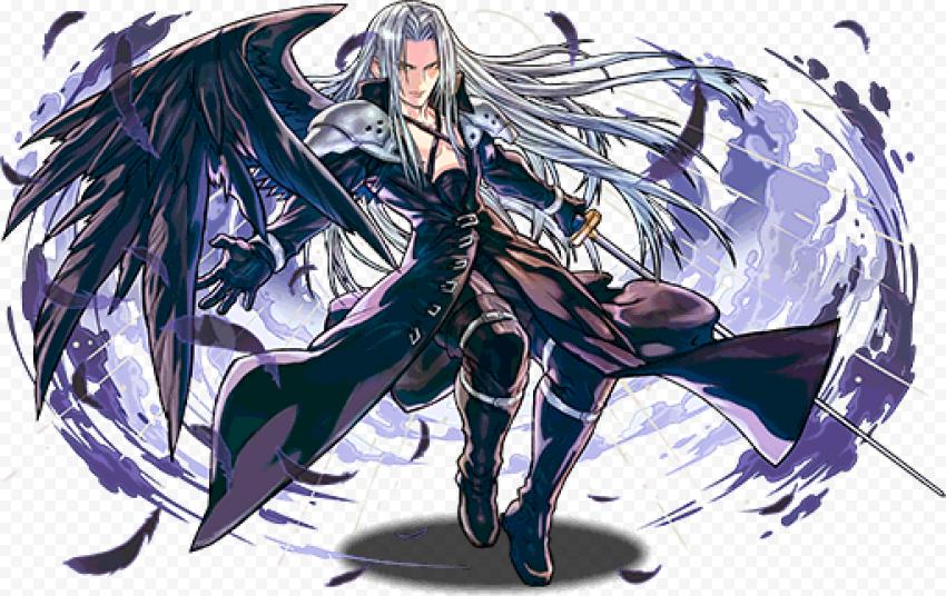 Final Fantasy Sephiroth Transparent Background