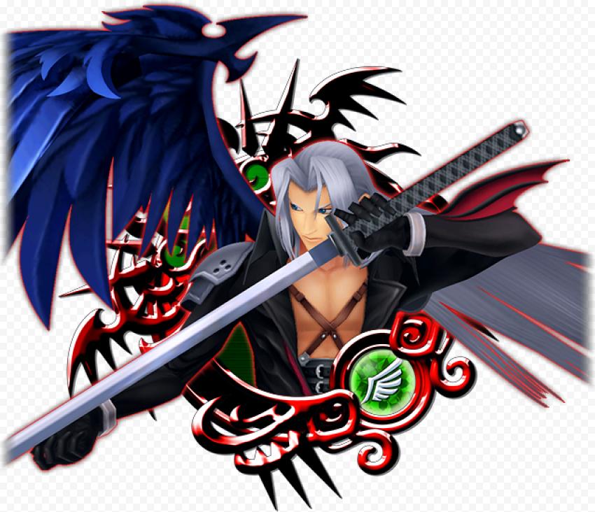 Sephiroth PNG Transparent