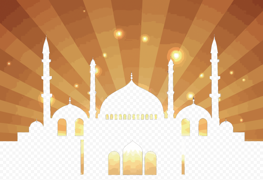 halal islamic architecture vector islamic architecture