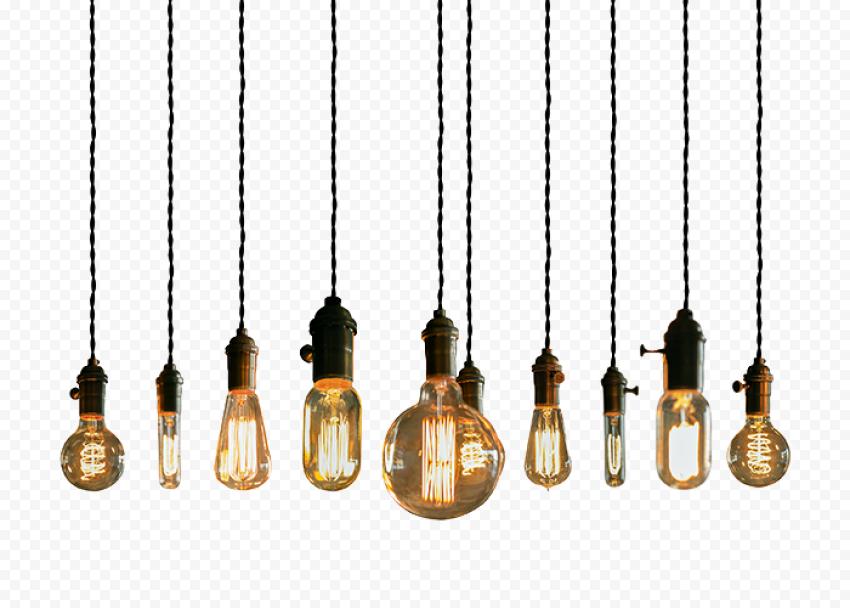 Lighted pendant light lot, Lighting Incandescent light , lantern, lED Lamp, light png