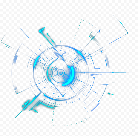 Light Circle Geometry, Science and Technology, blue mechanical, blue, angle, electronics png