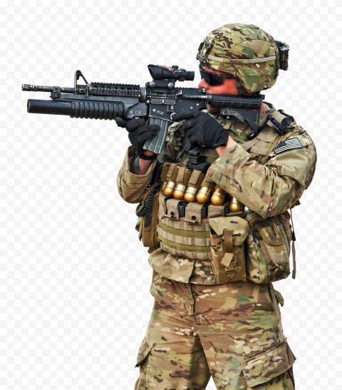 Army soldier, , Military Man, people, video Game, war png