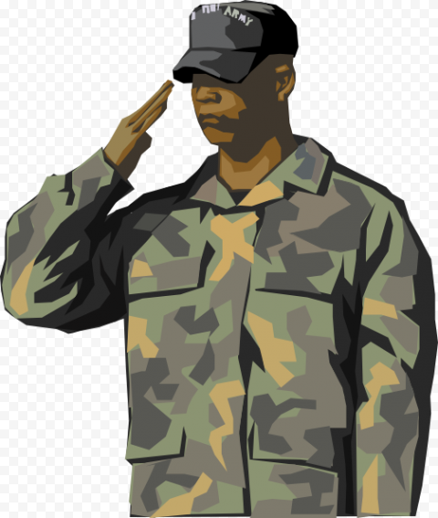 Soldier Salute Army, The majesty of the military, tshirt, cartoon, painting png